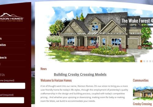 Horizon Homes Website