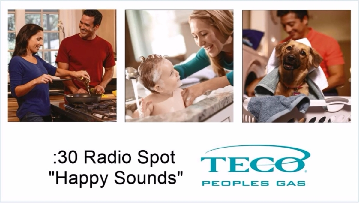 "Peoples Gas 30-second Radio Spot ""Happy Sounds"""