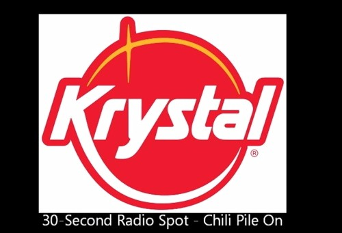 """Krystal 30-second Radio Spot """"Chili Pile On"""""""