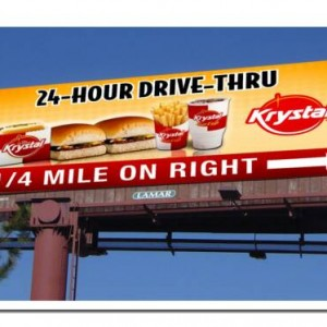 Krystal Billboard