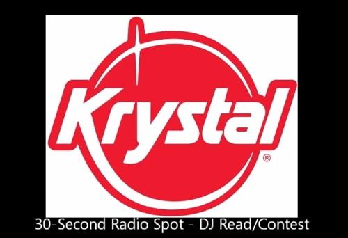 """Krystal 30-second Radio Spot """"DJ Read & Contest"""""""