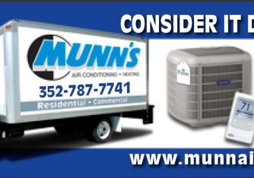 Munn's Air Conditioning Billboard