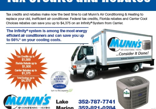 Munn's Air Conditioning Newspaper Ad