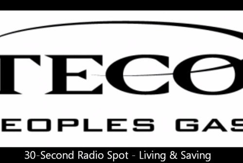 "Peoples Gas 30-second Radio Spot ""Living And Saving"""