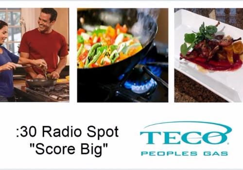"Peoples Gas 30-second Radio Spot ""Score Big"""