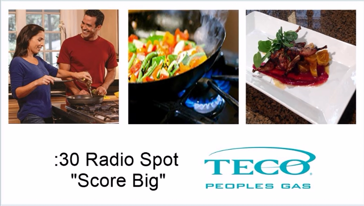 "Peoples Gas 30-second Radio Spot ""Score Big"""