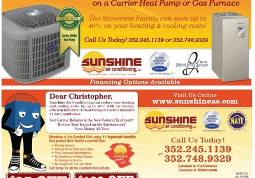 Sunshine Air Conditioning Direct Mail