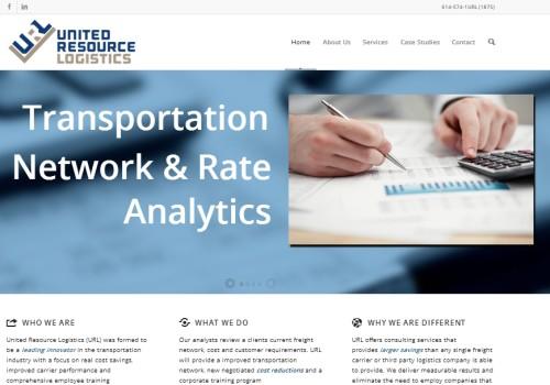 United Resources Logistics Website