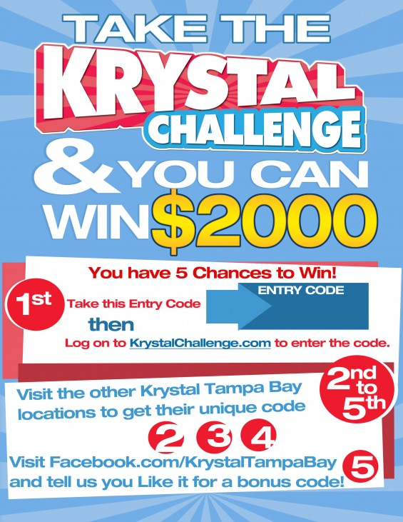 Brandmark Advertising Launches The Krystal Challenge Contest
