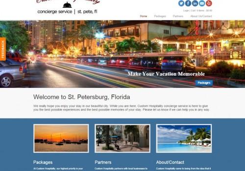 Custom Hospitality Website
