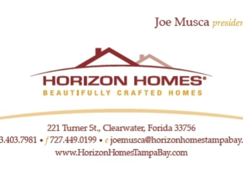 Horizon Homes Business Card