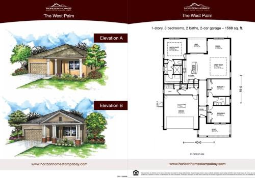 Horizon Homes Sales Sheet 1