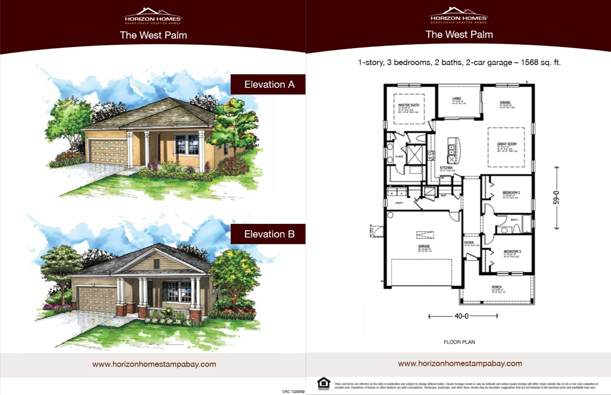 Horizon Homes Sales Sheet 1