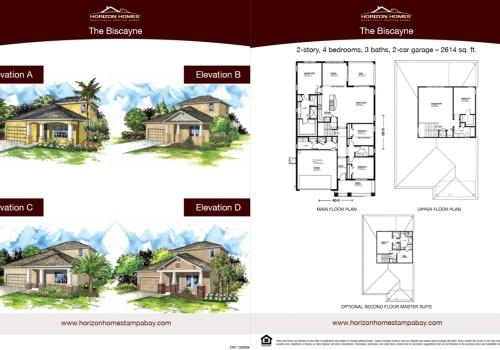 Horizon Homes Sales Sheet 2