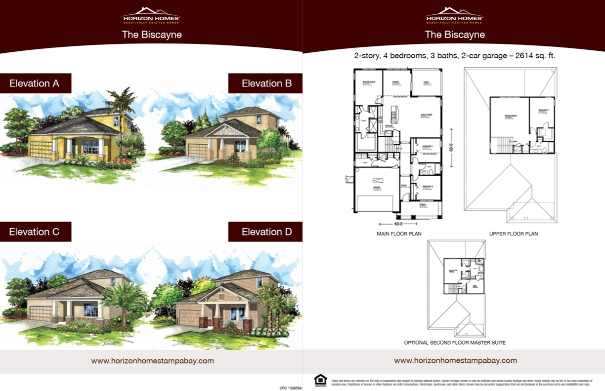 Horizon Homes Sales Sheet 2