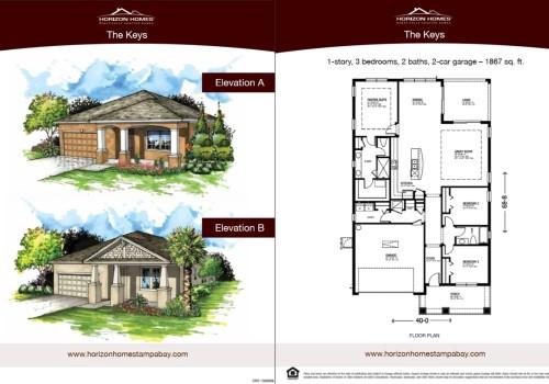 Horizon Homes Sales Sheet 3