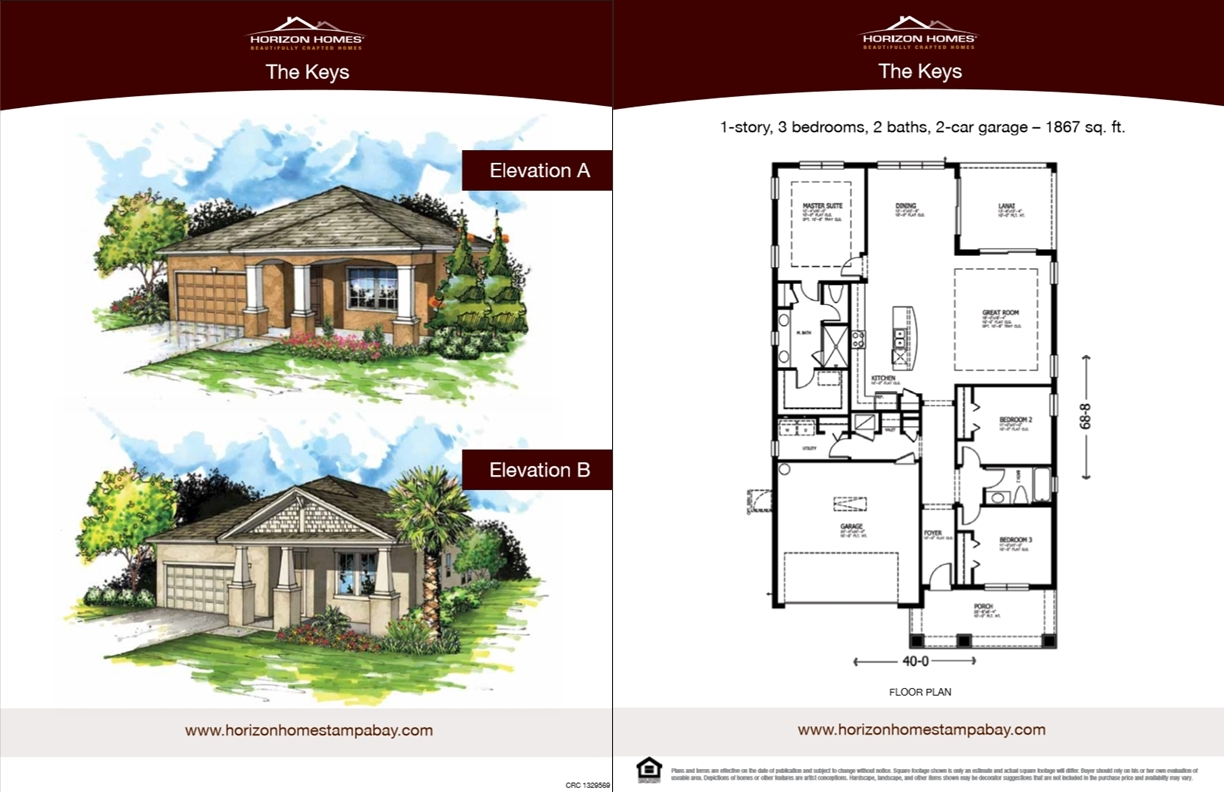 Horizon Homes Sales Sheet 3